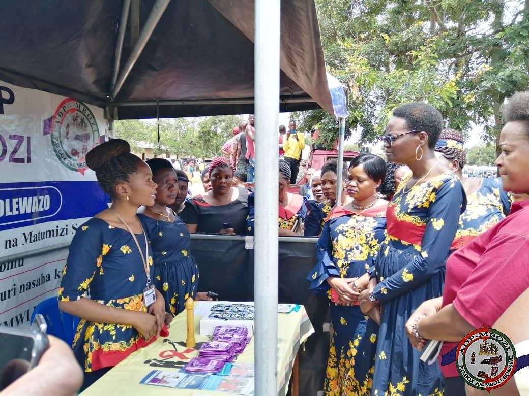 Commemoration of World women's day at Makongolosi Chunya