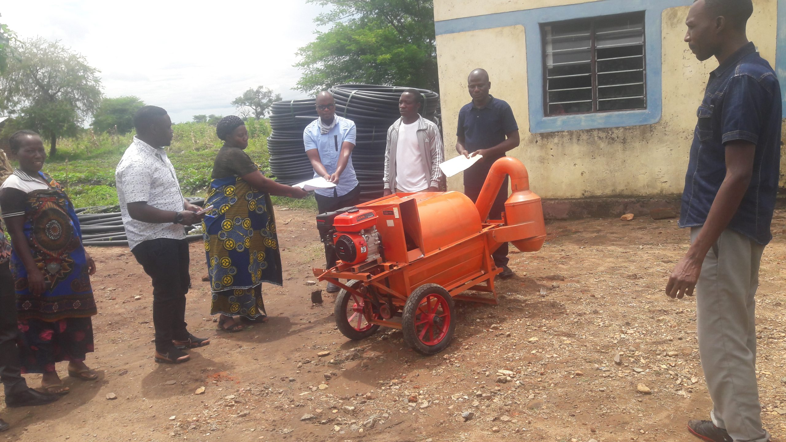 Distribution of Rice Processing machine